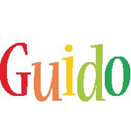 Guido birthday logo