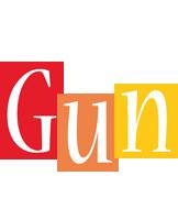 Gun colors logo