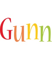 Gunn birthday logo