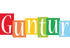 Guntur colors logo