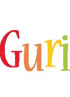 Guri birthday logo