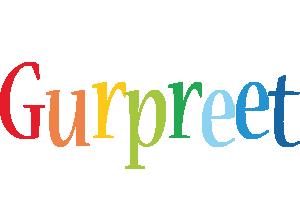 Gurpreet birthday logo