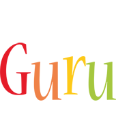Guru birthday logo