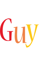 Guy birthday logo