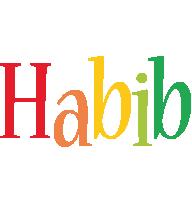 Habib birthday logo