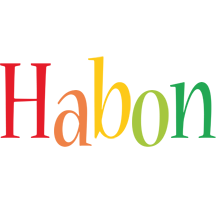 Habon birthday logo