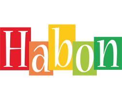 Habon colors logo