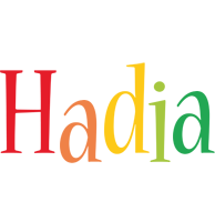 Hadia birthday logo