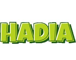 Hadia summer logo