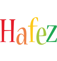 Hafez birthday logo