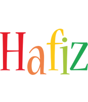 Hafiz birthday logo