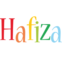 Hafiza birthday logo