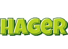 Hager summer logo