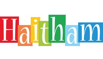 Haitham colors logo