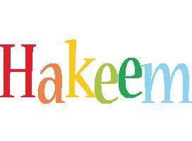 Hakeem birthday logo