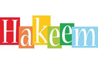 Hakeem colors logo