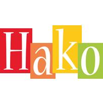 Hako colors logo