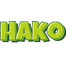 Hako summer logo