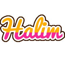 Halim smoothie logo