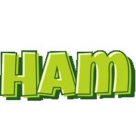 Ham summer logo