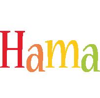 Hama birthday logo