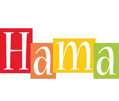 Hama colors logo