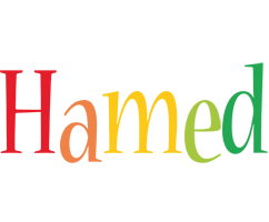 Hamed birthday logo