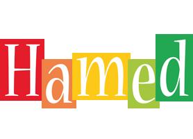 Hamed colors logo