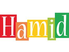 Hamid colors logo