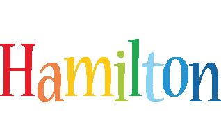 Hamilton birthday logo