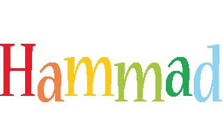 Hammad birthday logo