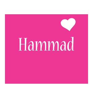 hammad logo name logo generator i love love heart
