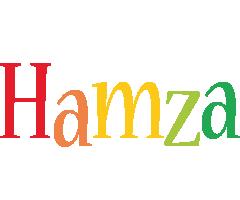 Hamza birthday logo