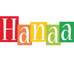 Hanaa colors logo