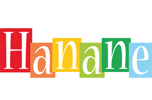 Hanane colors logo
