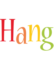Hang birthday logo