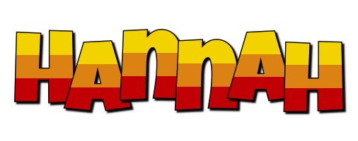 Hannah Logo   Name Logo Generator - I Love, Love Heart ...