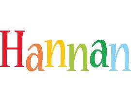 Hannan birthday logo