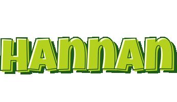 Hannan summer logo
