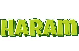 Haram summer logo