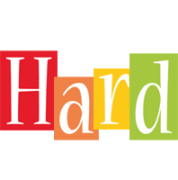 Hard colors logo
