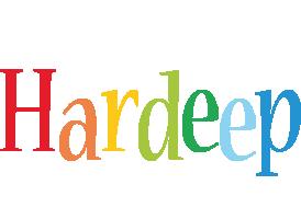 Hardeep birthday logo