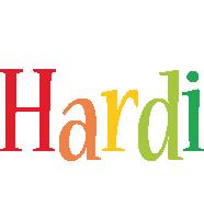 Hardi birthday logo