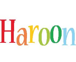 Haroon birthday logo