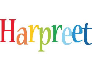 Harpreet birthday logo