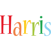 Harris birthday logo