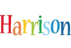 Harrison birthday logo