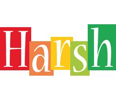 Harsh colors logo
