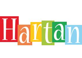 Hartan colors logo