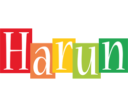 Harun colors logo